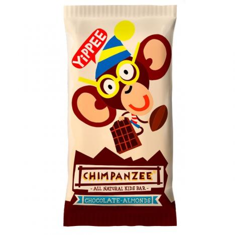 CHIMPANZEE YIPPEE BAR Chocolate Almonds 55 g