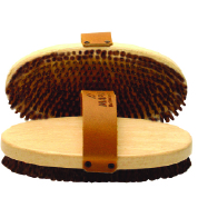 MAPLUS Hard Horsehair Oval Brush