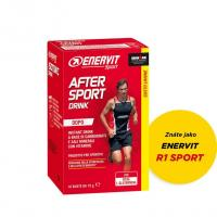 ENERVIT AFTER SPORT DRINK citron 10 x 15g
