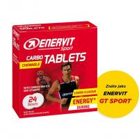 ENERVIT CARBO TABLETS citron 24 tablet