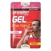ENERVIT GEL ONE HAND malina kofein 12,5 ml