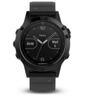 GARMIN FENIX 5 Sapphire Black Optic, Black band