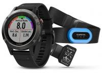 GARMIN FENIX 5 Gray Optic TRI Performer, Black band