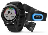 GARMIN FENIX 5 Sapphire Black Optic TRI Performer, Black band