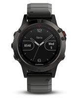 GARMIN FENIX 5 Sapphire Gray Optic, Metal band