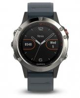 GARMIN FENIX 5 Silver Optic, Granite Blue band