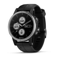 GARMIN FENIX 5S Plus Silver, Black Band