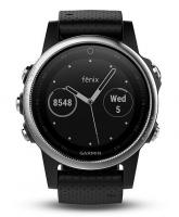 GARMIN FENIX 5S Silver Optic, Black band