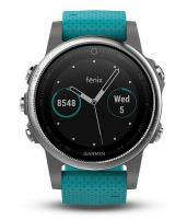 GARMIN FENIX 5S Silver Optic, Blue band