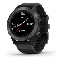 GARMIN FENIX 6 Sapphire, Gray/Black Band (MAP/Music)