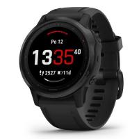 GARMIN FENIX 6S Glass, Black/Black Band (MAP/Music)