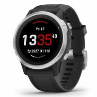 GARMIN FENIX 6S Glass Silver/Black Band