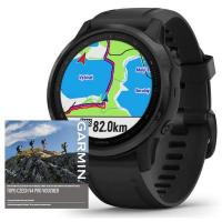 GARMIN FENIX 6S PRO Glass, Black/Black Band (MAP/Music)