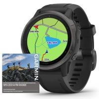 GARMIN FENIX 6S PRO Sapphire, Gray/Black Band (MAP/Music)