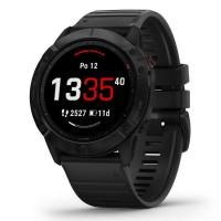 GARMIN FENIX 6X Glass, Black/Black Band (MAP/Music)