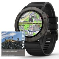 GARMIN FENIX 6X PRO Sapphire, GrayDLC/Black Band (MAP/Music)