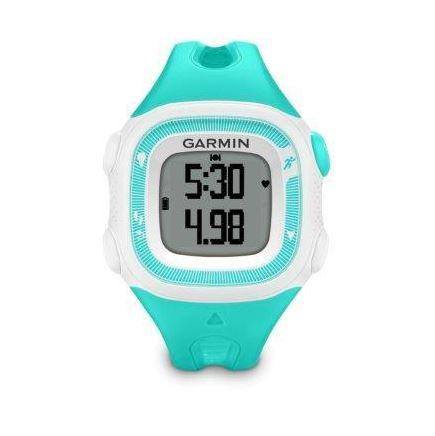 GARMIN FORERUNNER 15 HR Teal White S