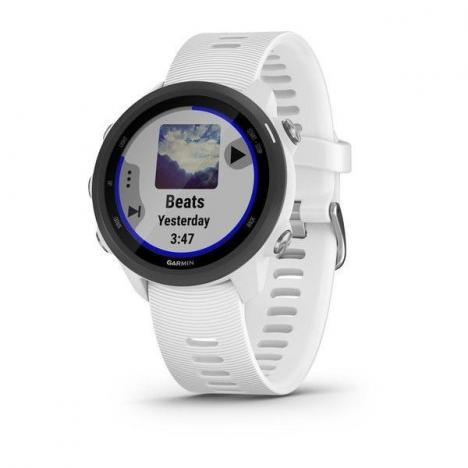 GARMIN FORERUNNER 245 Music Optic White