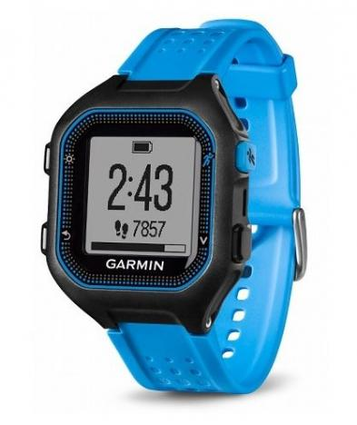 GARMIN FORERUNNER 25 HR Black Blue XL