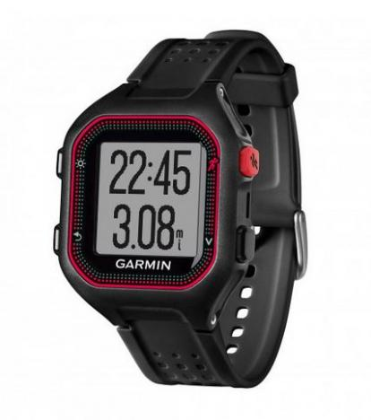 GARMIN FORERUNNER 25 HR Black Red XL