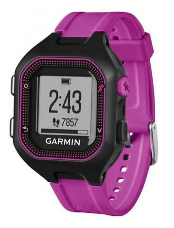 GARMIN FORERUNNER 25 HR Optic Black Purple S