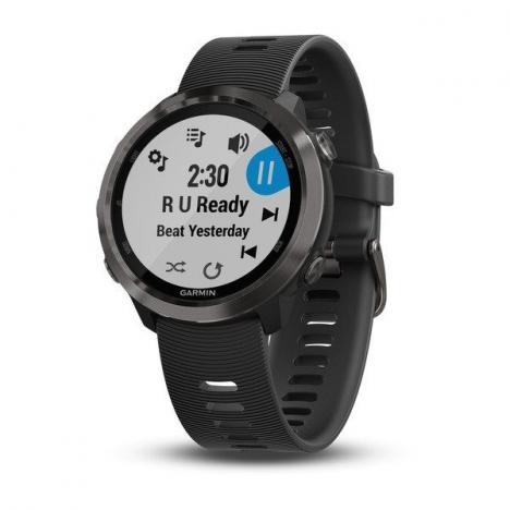 GARMIN FORERUNNER 645 Music Slate, Black band