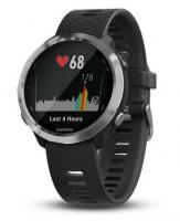 GARMIN FORERUNNER 645 Music Steel, Black band
