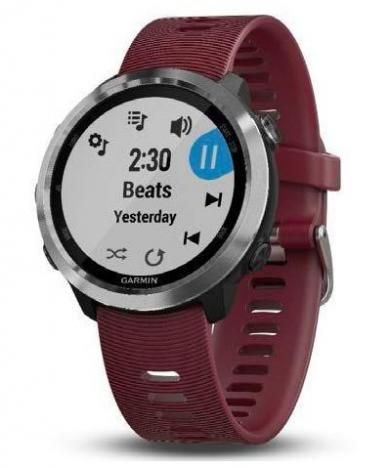 GARMIN FORERUNNER 645 Music Steel, Red band