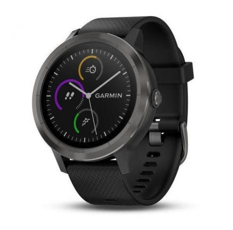 GARMIN VIVOACTIVE 3 Optic Grey PVD, Black band