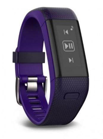 GARMIN VIVOSMART Optic GPS Purple L