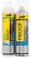 TOKO Duo-Pack Textille Proof & Eco Textile Wash 2 x 250 ml