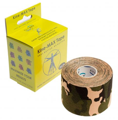 KINEMAX SUPERPRO COTTON TAPE camo 5 m