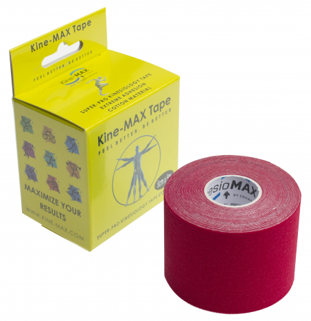 KINEMAX SUPERPRO COTTON TAPE červená 5 m