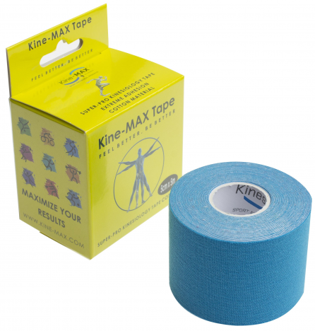 KINEMAX SUPERPRO COTTON TAPE modrá 5 m