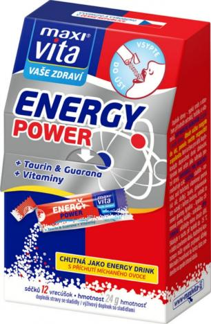 MAXIVITA Energy Power 12 sáčků