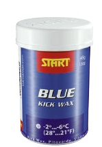 START synthetic kick wax blue