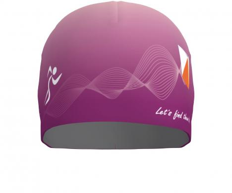 SPORTICUS Bi-Elastic Air Cap Purple design Sporticus