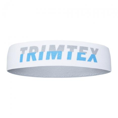 TRIMTEX Headband white/grey/blue