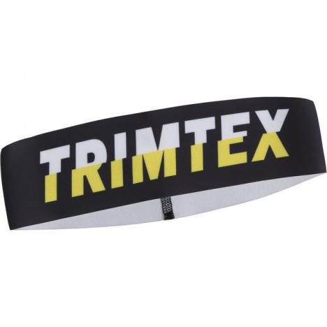 TRIMTEX Speed Headband Dark Silver / Lime