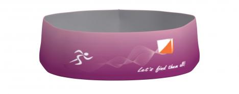SPORTICUS Speed Headband Purple design Sporticus