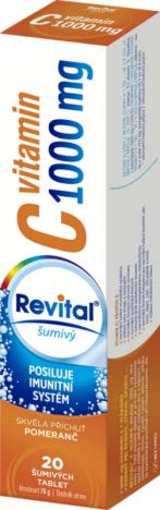 REVITAL C 1000 mg pomeranč